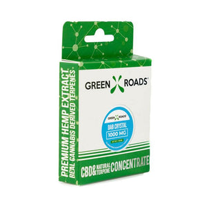 Green Roads - CBD Concentrate - Dab Crystals - 1000mg