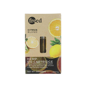 Freed - CBD Cartridge - Citrus Blend - 200mg - Natural Releaf CBD