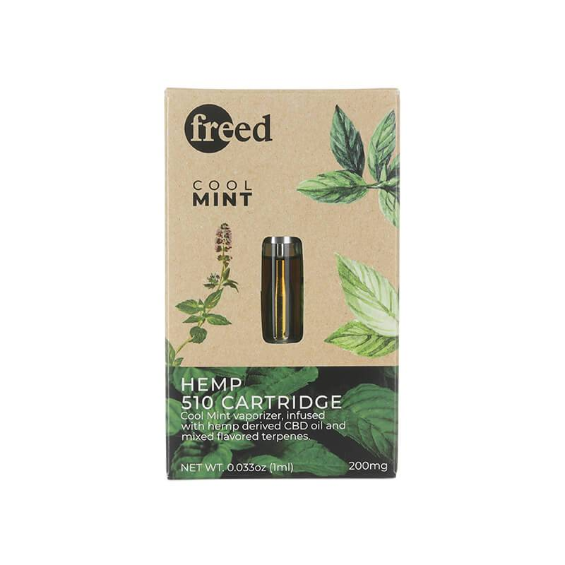Freed - CBD Cartridge - Cool Mint - 200mg - Natural Releaf CBD