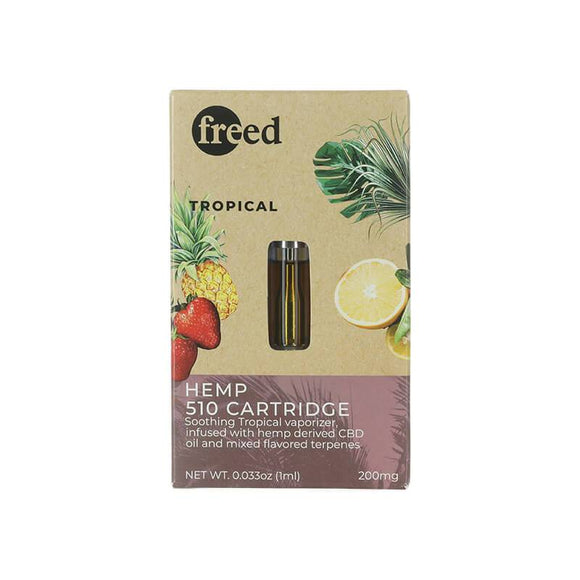Freed - CBD Cartridge - Tropical - 200mg - Natural Releaf CBD