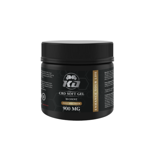 Knockout CBD - CBD Soft Gel - Capsule - 30mg - Natural Releaf CBD