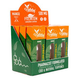 Free The Leaf - CBD Cartridge - Mango - 250mg-500mg - Natural Releaf CBD