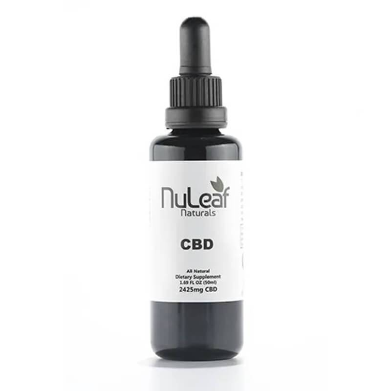 NuLeaf Naturals - CBD Tincture - Full Spectrum Extract - 2425mg - Natural Releaf CBD