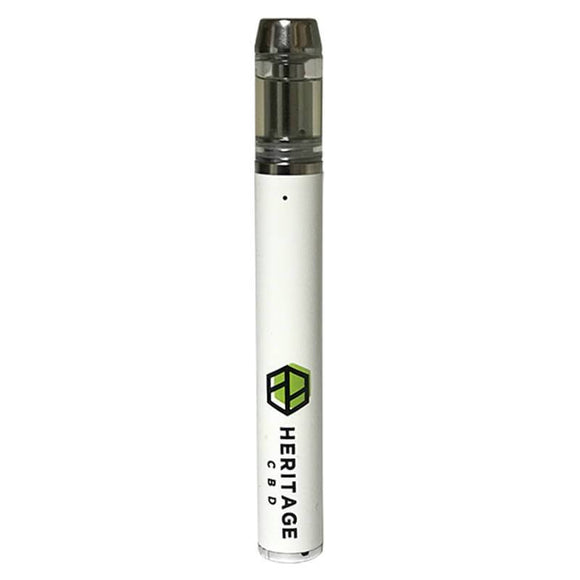 Heritage Hemp - CBD Vape Device - Disposable Hemp Extract Oil - 200mg - Natural Releaf CBD