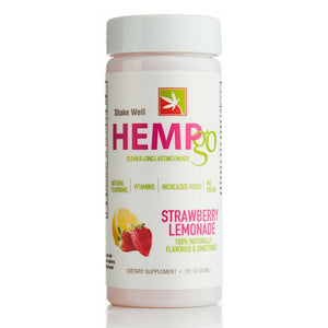HEMPgo - CBD Drink - Day Time Strawberry Lemonade - 100mg