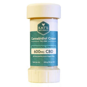 Kat's Naturals - CBD Topical - Professional Cream - 600mg - Natural Releaf CBD