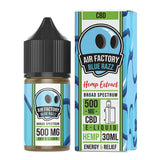 Air Factory CBD - CBD Vape Juice - Blue Razz - 250mg-500mg - Natural Releaf CBD
