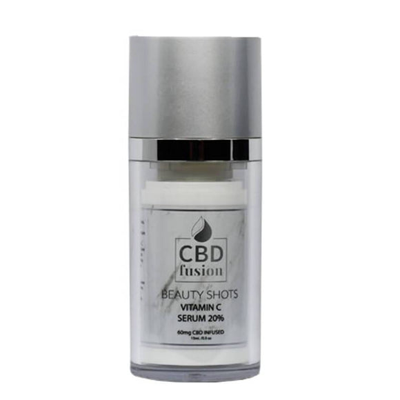 CBD Fusion - CBD Beauty - Vitamin C Serum 15ml - 60mg - Natural Releaf CBD