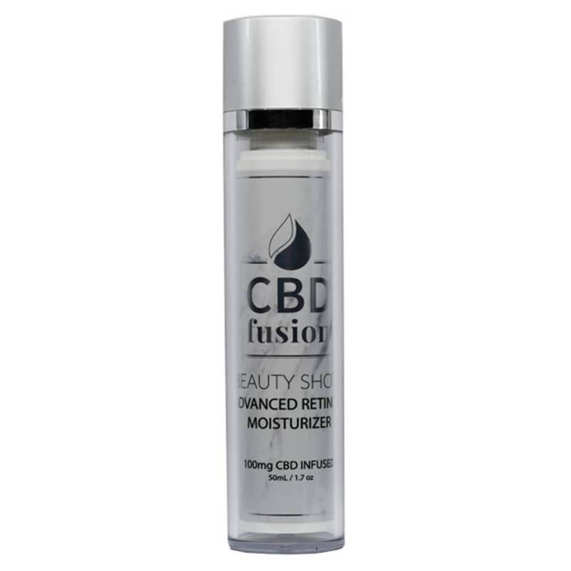 CBD Fusion - CBD Beauty - Moisturizer 50ml - 100mg - Natural Releaf CBD