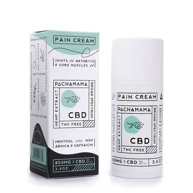 Pachamama - CBD Topical - Pain Cream - 850mg - Natural Releaf CBD