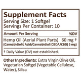 PlusCBD Oil - CBD Softgels - Raw Blend Full Spectrum - 5mg - Natural Releaf CBD