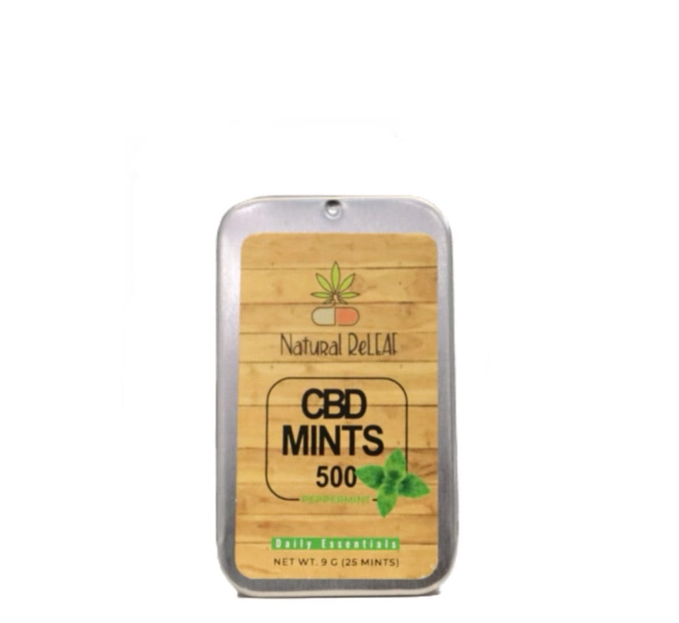 Natural Releaf CBD Mints - Natural Releaf CBD