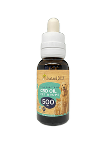 Natural Releaf Full Spectrum CBD Oil Pet Drops 500mg