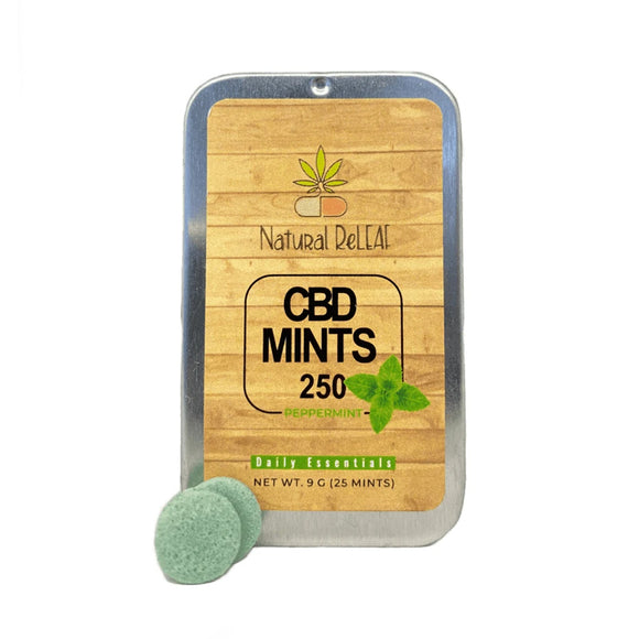 Natural Releaf CBD Mints