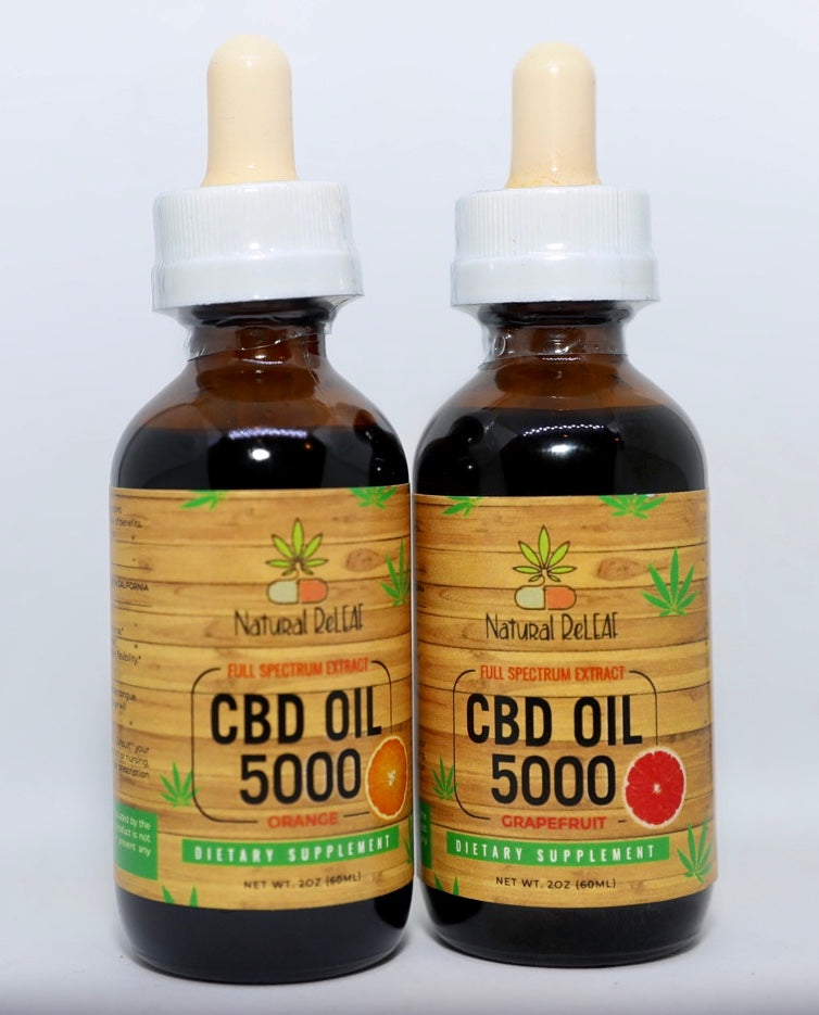 Natural Releaf Full Spectrum CBD Tincture - Natural Releaf CBD