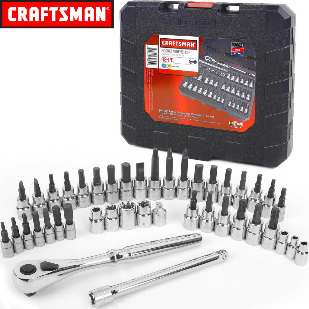 Craftsman™ 42-in-1 Socket Wrench Set - AweDeals.net