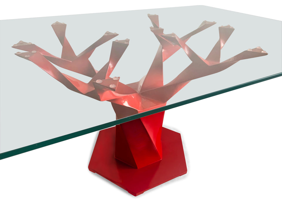 Teâshí Coffee Table - Inception Series - Red