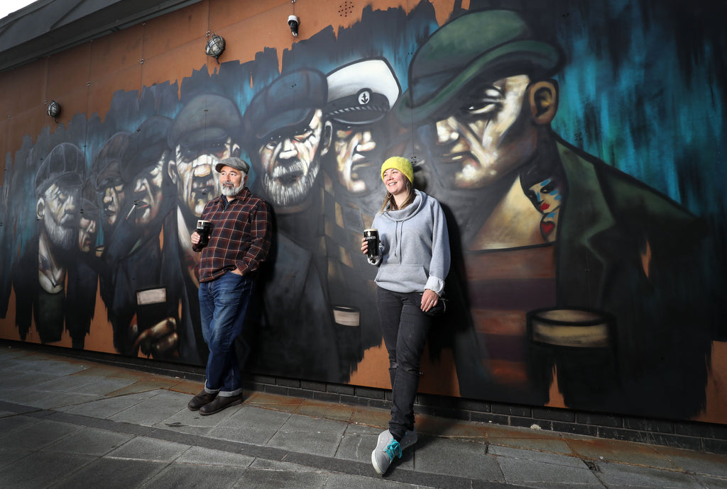 New Terry Bradley and Friz mural unveiled