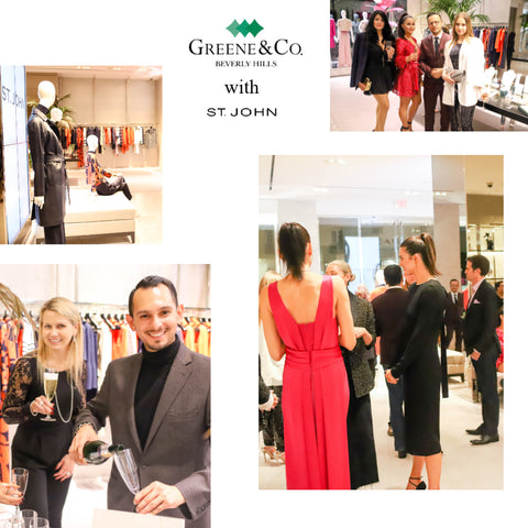 St. John x Greene & Co. Beverly Hills Luxury Brand Event