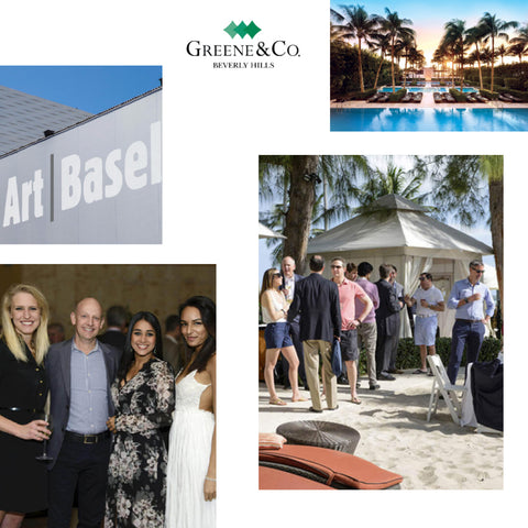 Art Basel Miami x Greene & Co. Beverly Hills Event