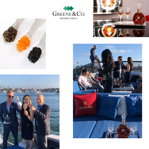 Greene & Co. Beverly Hills luxury brand event with Louis Xiii Cognac