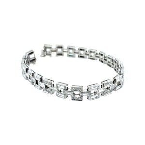 Platinum Veritas Diamond Bracelet