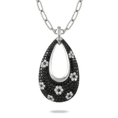 Gothica Black Diamond Pendant