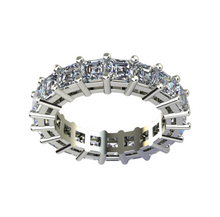 Load image into Gallery viewer, Asscher Cut Diamond Eternity Band