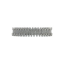 Load image into Gallery viewer, 18KW White Gold Round Diamond Bracelet