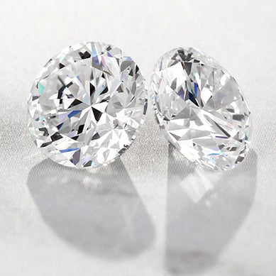 2ct Pair of GIA Certified Round Brilliant Loose Diamonds