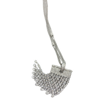 Load image into Gallery viewer, 18K White Gold Diamond Chandelier Pendant