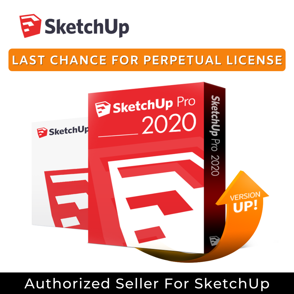 SketchUp Pro Classic 2020 with 1 year Upgrade & Maintenance (Single User)