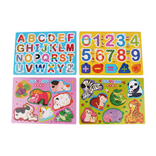 Load image into Gallery viewer, Bilingual Puzzle Boards (Set of 4) • 新貝貝小拼板(全4款)