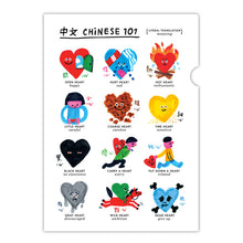 Load image into Gallery viewer, All Things Bright and Beautiful: Chinese 101 Folders (Set of 3) • 中文101文件夾套裝