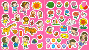 Fill-in-the-Blank Vocabulary Sticker Booklets • 生字貼紙故事書