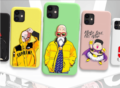 iPhone 11 Dragon Ball Style Silicone Designer iPhone Case For iPhone 11 Pro Max X XS XS Max XR 7 8 Plus