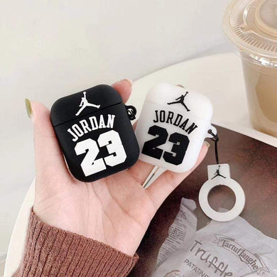 AirPods Case Jordan 23 Basketball Silicone Protective AirPods 1 & 2 Case