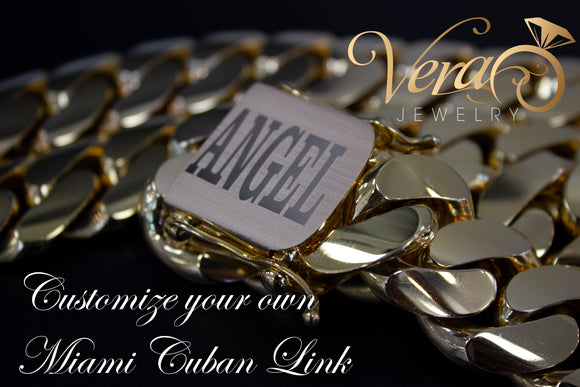 Customize you own Miami Cuban Link