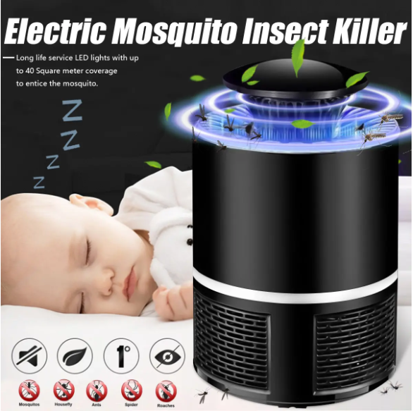 LEDLit™ Best USB Electric Mosquito Bug Killer and Zapper with Dispeller Fly Catcher Trap Lamp Light