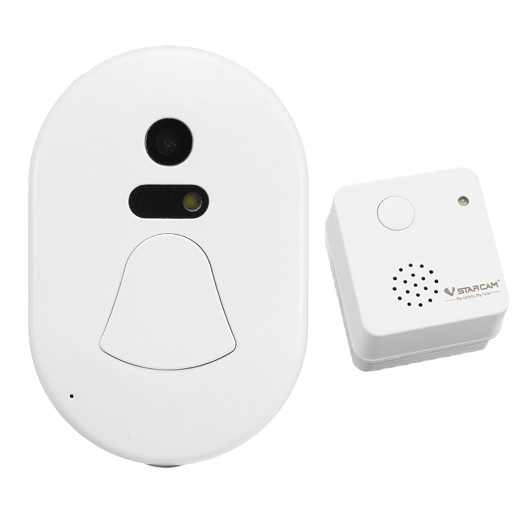 StarCam™ WIFI Wireless Smart Home Security Surveillance Doorbell Door Camera