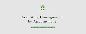 Consignment department open via appointments