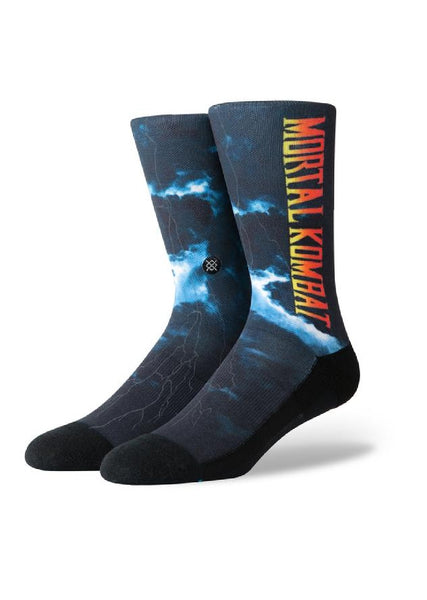 Mortal Kombat Stance Anthem socks, size large.