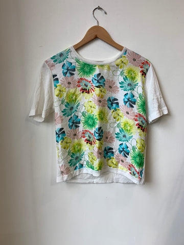Nina Ricci Floral Light-Knit Top