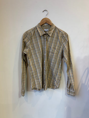 Steven Alan Multi-Colour Plaid Shirt