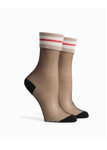 Richer Poorer see-through Gianna socks.