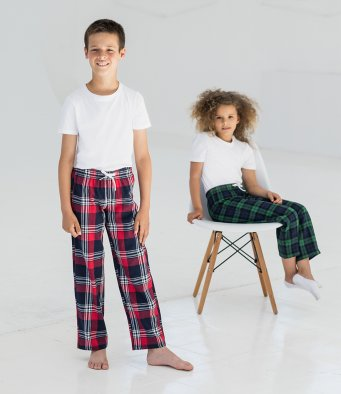SF Minni Kids Tartan Lounge Pants - SM083