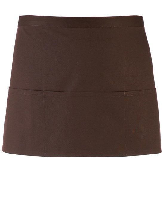 Premier Colours 3-Pocket Apron - PR155