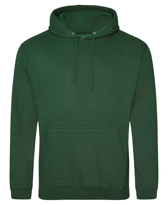 AWDis Bottle Green Adults Hoodie - UNISEX - JH001