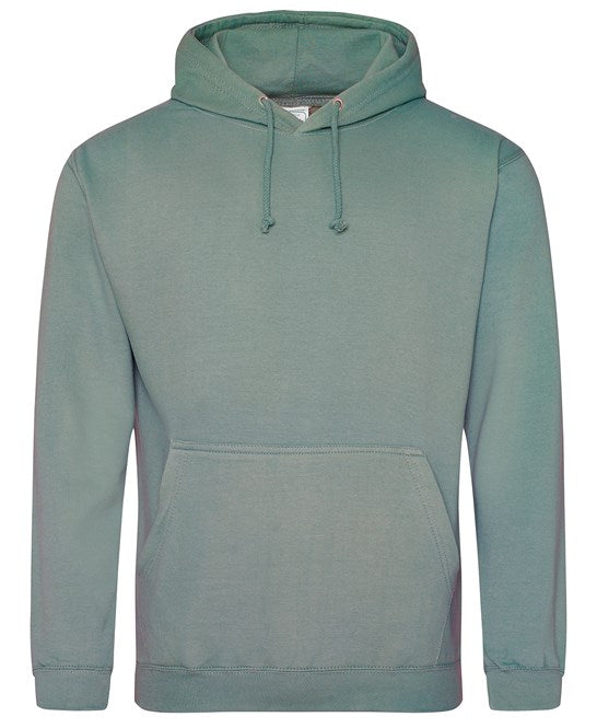 AWDis Dusty Green Adults Hoodie - UNISEX - JH001