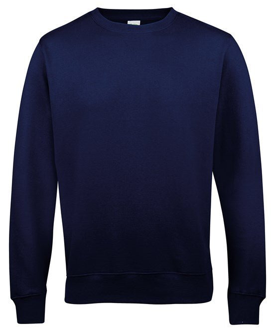 AWDis French Navy Adults Sweatshirt - JH030
